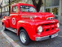 Stara FORD furgonetka Zdjęcie Stock
