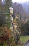 Stara fortyfikacja w Luksemburg mieście obrazy royalty free