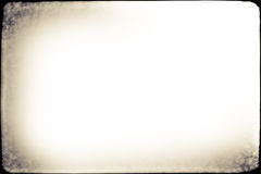 Stara fotografii Grunge rama Obrazy Stock