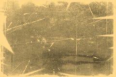 Stara fotografii tekstura z plamami i narysami Rocznika i antyka sztuki poj?cie Frontowy widok pusta stara starzej?ca si? brudna  fotografia royalty free