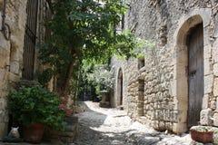 Stara francuska ulica Zdjęcie Royalty Free