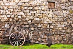 Stara fura w winnicy kraju Napa, Kalifornia Zdjęcie Royalty Free