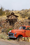 Stara Furgonetka, Santa Fe, NM, USA Obrazy Stock