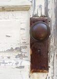 stara gałka drzwi fotografia stock