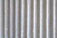 Stara galwanizująca żelazo talerza tekstura Zdjęcie Royalty Free