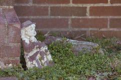 Stara Gankowa statuy dekoracja obrazy stock