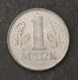 Stara Germany oceny moneta Obrazy Stock