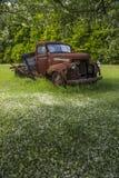 Stara gospodarstwo rolne ciężarówka zdjęcie stock