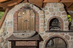 Stara grill wędzarnia Fotografia Stock