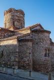 Stara Grodzka Nessebar strona przeciwna Antyczny kościół Fotografia Stock