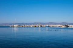 Stara Grodzka Nessebar zatoka Seaview Obraz Royalty Free