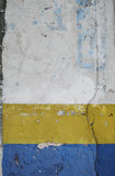 Stara grunge ściana Obrazy Royalty Free