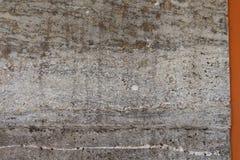 Stara grungy tekstura, popielata betonowa ściana Obrazy Royalty Free