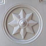 Stara gwiazda w kościół Zdjęcia Royalty Free