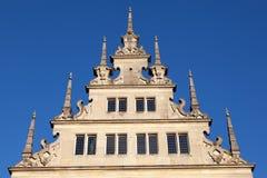 Stara hanseatic fasada Obraz Stock