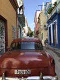 Stara Hawańska Kubańska ulica w 2016 Zdjęcie Stock