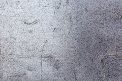 Stara i brudna aluminiowa tekstura Obrazy Royalty Free