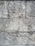 Stara i brudna Kamienna tekstura Fotografia Stock