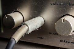 Stara i brudna stereo dźwigarka. fotografia royalty free