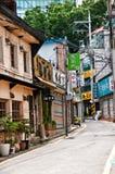 Stara i nowa architektura w w centrum Seul Zdjęcia Royalty Free