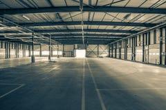 Stara i pusta przemysł sala Obraz Royalty Free