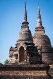Stara i ruina pagoda Zdjęcia Stock