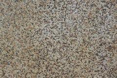 Stara i Wietrzejąca Kamienna ściana Robić Gravels Biali, Szarzy, Czarni i Czerwoni kolory, Obraz Royalty Free