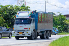 Stara intymna 10 kół ciężarówka Obrazy Stock