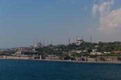 Stara Istanbuł linia horyzontu w Turcja Zdjęcie Royalty Free