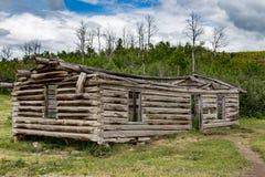 Stara kabina w Wyoming Obraz Royalty Free