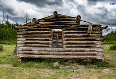 Stara kabina w Wyoming Zdjęcia Stock