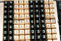 stara kalkulator klawiatura Fotografia Royalty Free