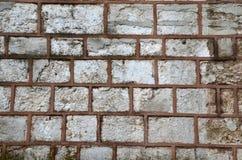 Stara kamienia kasztelu ściana Kamienny texture/tło Istanbuł fotografia stock