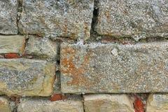 Stara kamieniarki ściana Zdjęcia Stock