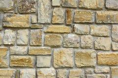 Stara kamieniarki ściana Fotografia Royalty Free