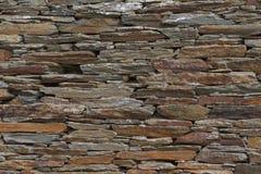 Stara kamienna ściana dom zdjęcie stock