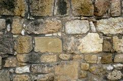 Stara Kamienna ściana Ukazuje się tekstur tła, tekstura 17 Fotografia Stock