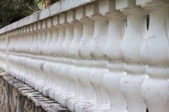 Stara kamienna balustrada Zdjęcie Royalty Free
