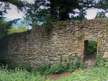 Stara kamienna ściana Obrazy Royalty Free