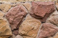 Stara kamienna ściana Fotografia Royalty Free