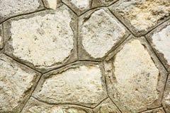 Stara kamienna ściana, architektoniczny element Obraz Royalty Free