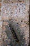 Stara kamienna ściana w Jerozolima Obrazy Royalty Free