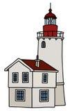Stara kamienna latarnia morska Obrazy Stock
