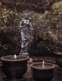 Stara kamienna statua bali Indonesia Zdjęcia Stock