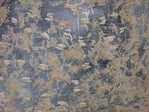 Stara kamienna tło tekstura Brukowiec podłoga lub ścienny ośniedziały pa Obrazy Stock