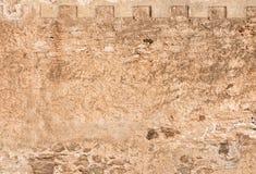 Stara kamiennej ściany background/tekstura obrazy royalty free