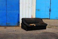Stara kanapa Zdjęcie Royalty Free