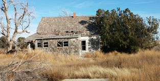 Stara Kansas farma Zdjęcia Royalty Free