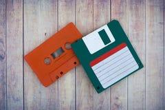 stara kasetę Zdjęcia Stock