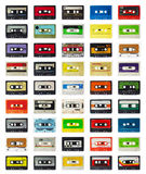 Stara kaseta Obrazy Royalty Free